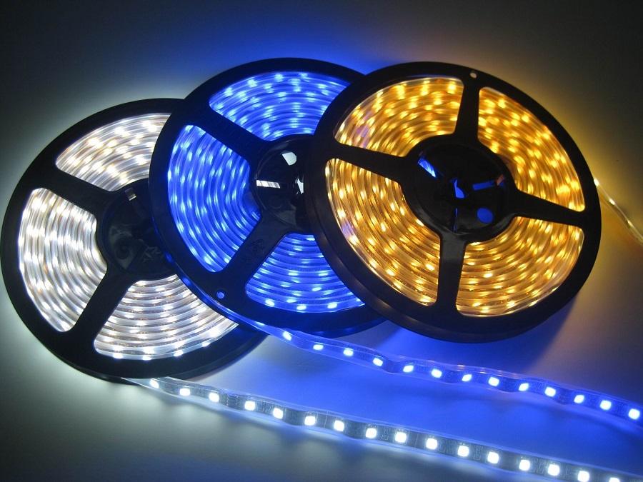 LED strips er perfekte under renoveringer